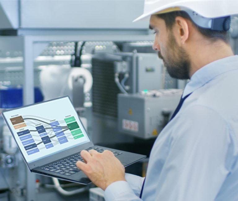 Voorkom stilstand of onderbreking van je productielijn met onze software